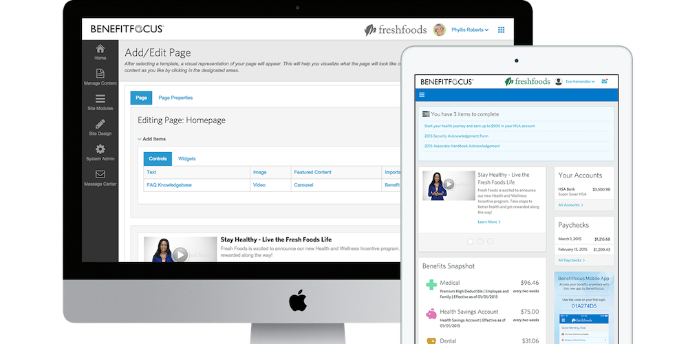Benefitfocus Demo - Communication Portal