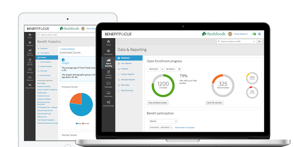 Benefitfocus Demo - Core & Advanced Analytics
