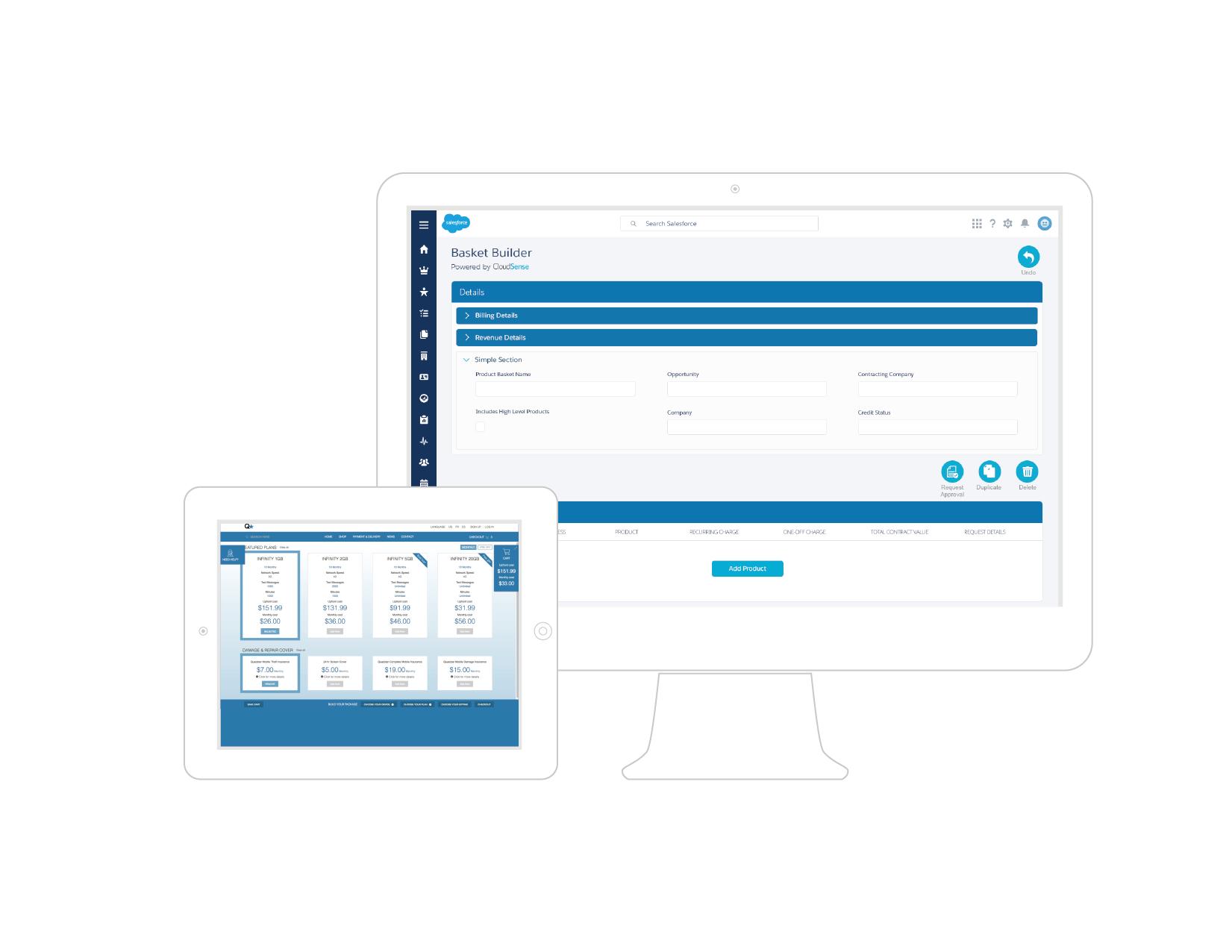 CloudSense Demo - CloudSense for Communications