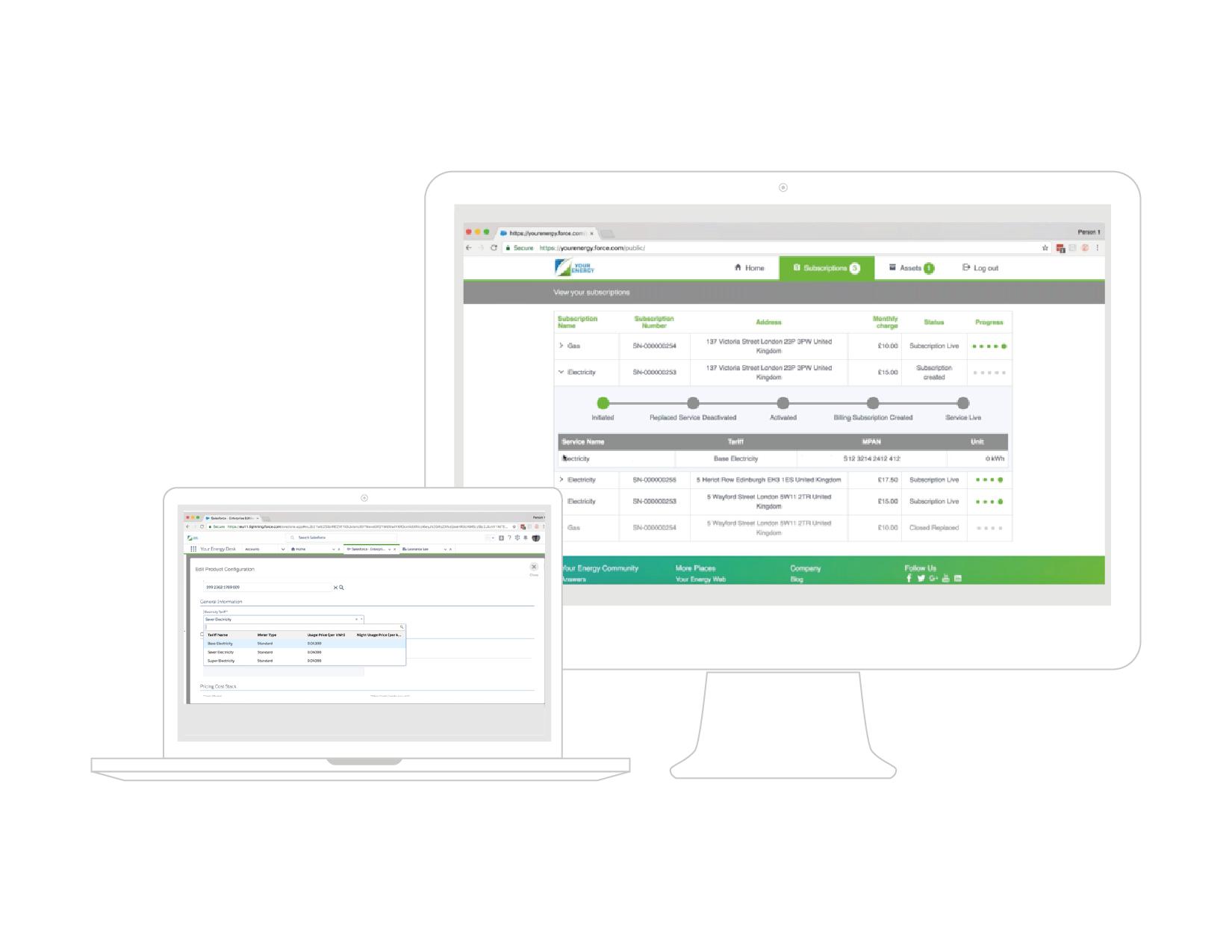 CloudSense Demo - CloudSense for Energy