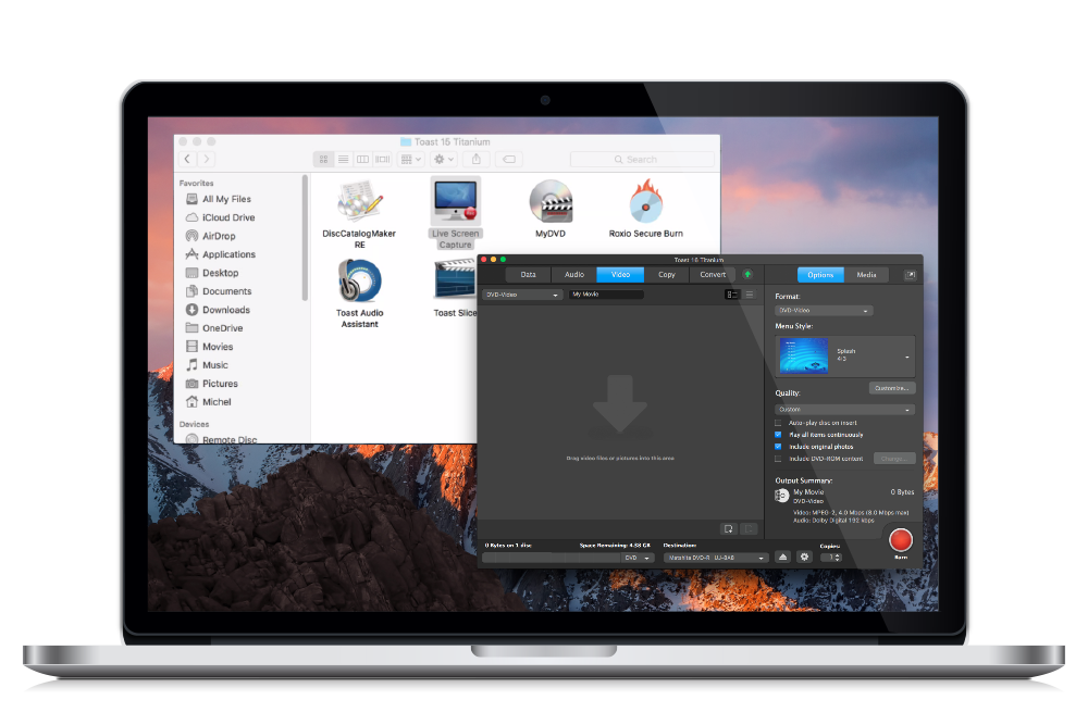 Toast Demo - Your digital media manager for Mac