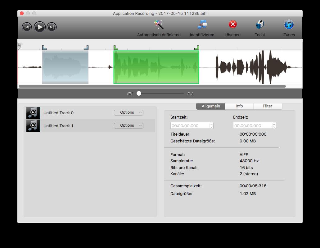 Toast Demo - Toast Audio