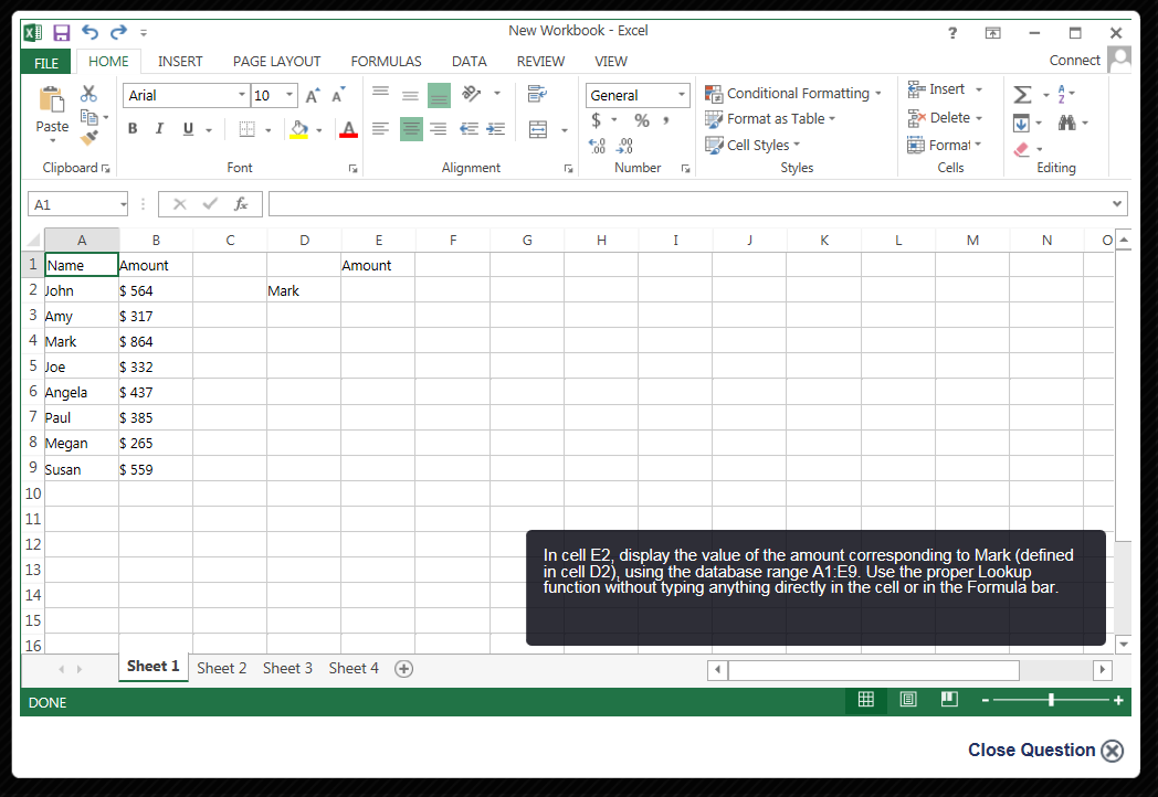 eSkill Skills Testing Demo - MS Office Simulation
