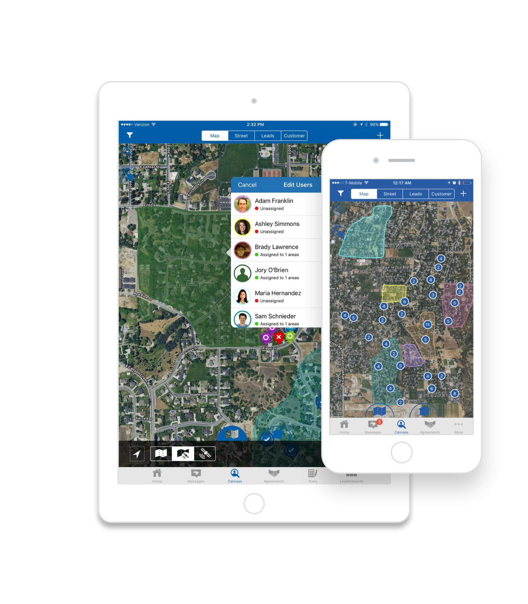 SalesRabbit Demo - Take control of your terrain with digital area management