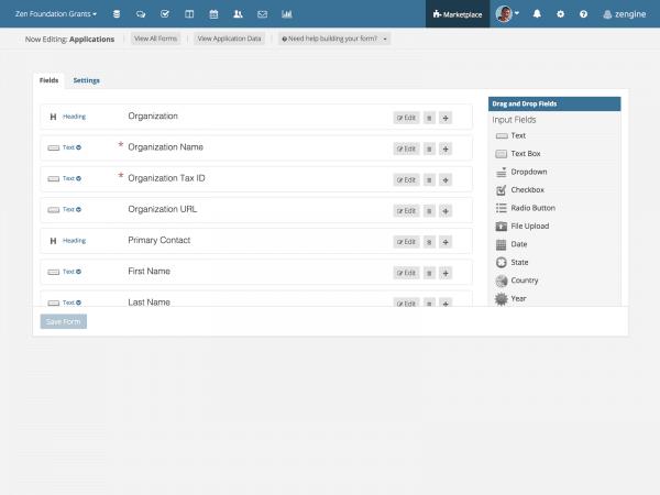 WizeHive Zengine Demo - Application Creation