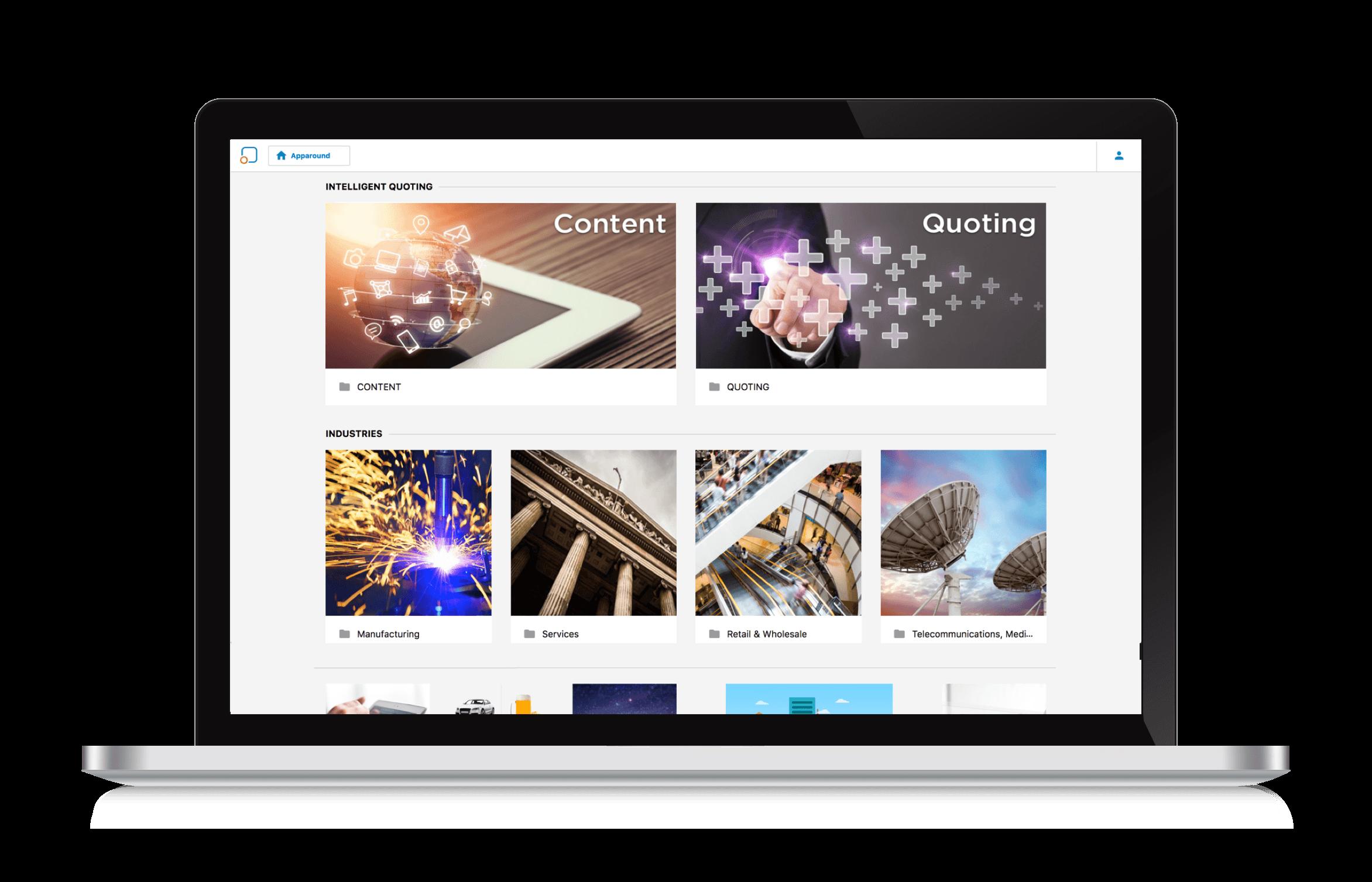 Apparound Demo - Web Client