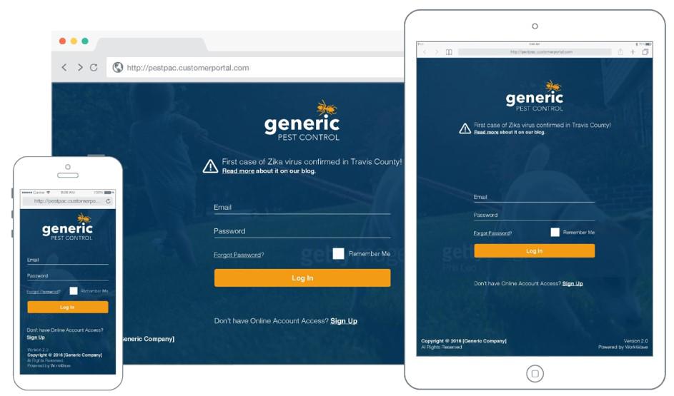 PestPac Demo - Customer Portal