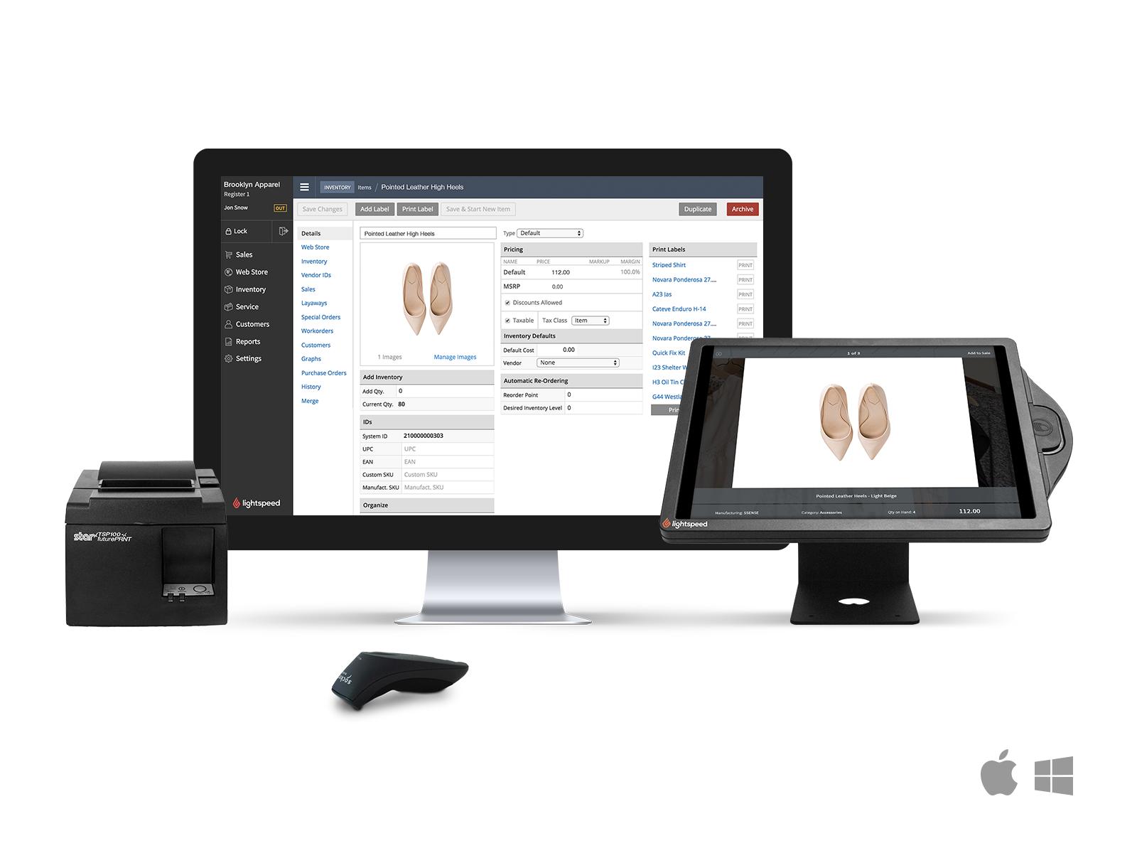 Lightspeed Retail Demo - SoftwareAdvice_LightspeedRetail_Lightspeed-POS-System.png