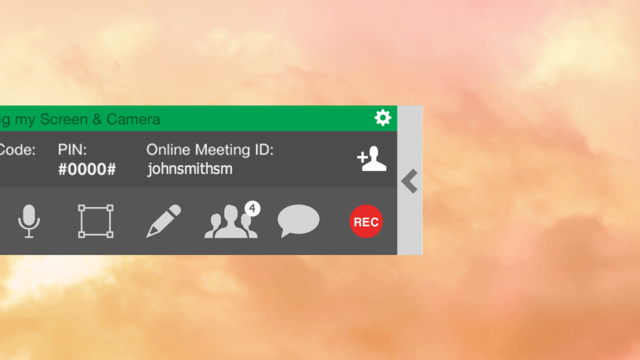 StartMeeting Demo - StartMeeting one-click, integrated recording