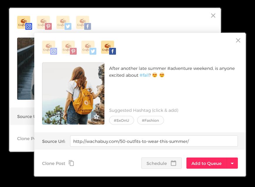 Viraltag Demo - Upload, edit & schedule posts in bulk