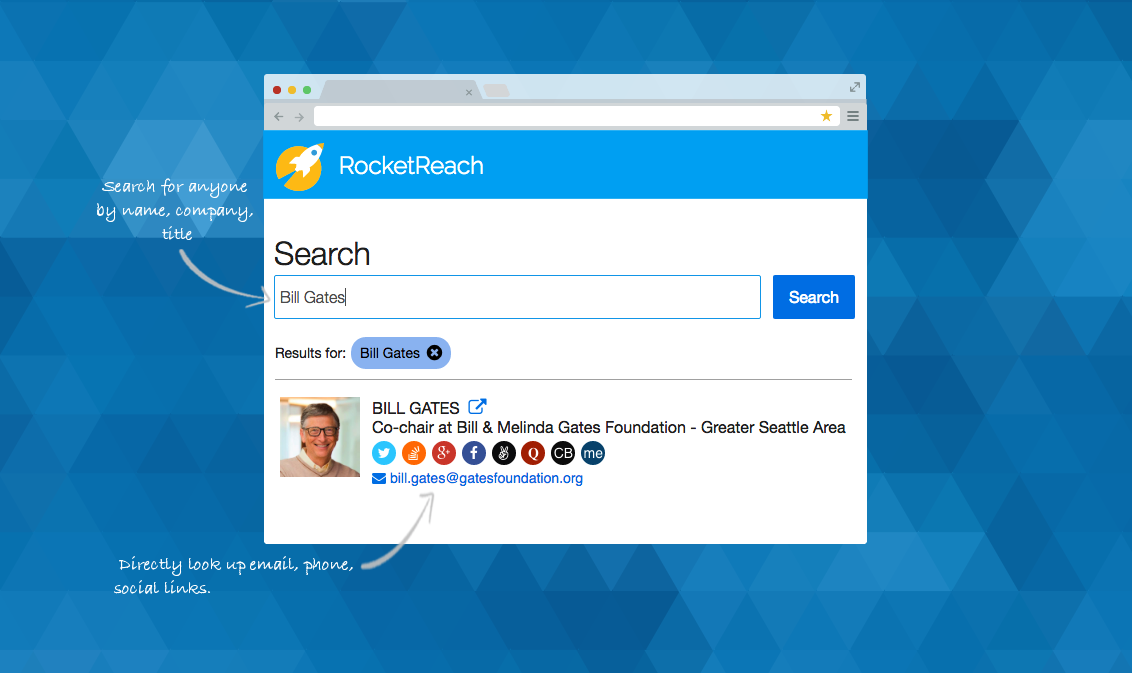 RocketReach Demo - RocketReach Find Email