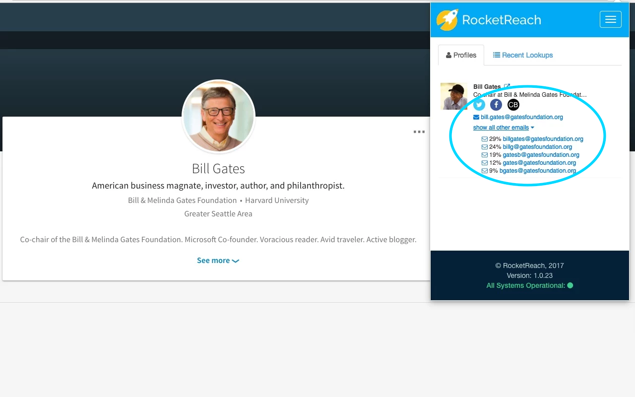 RocketReach Demo - RocketReach Plugin Linkedin