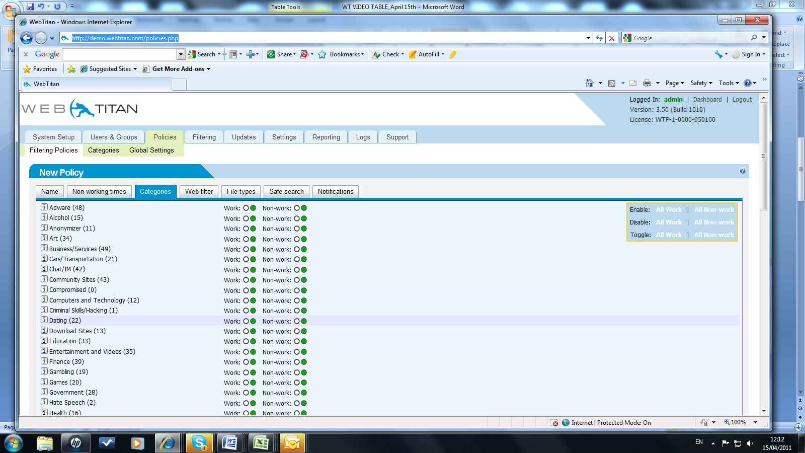 TitanHQ WebTitan Cloud Demo - CATEGORY+SCREEN.jpg