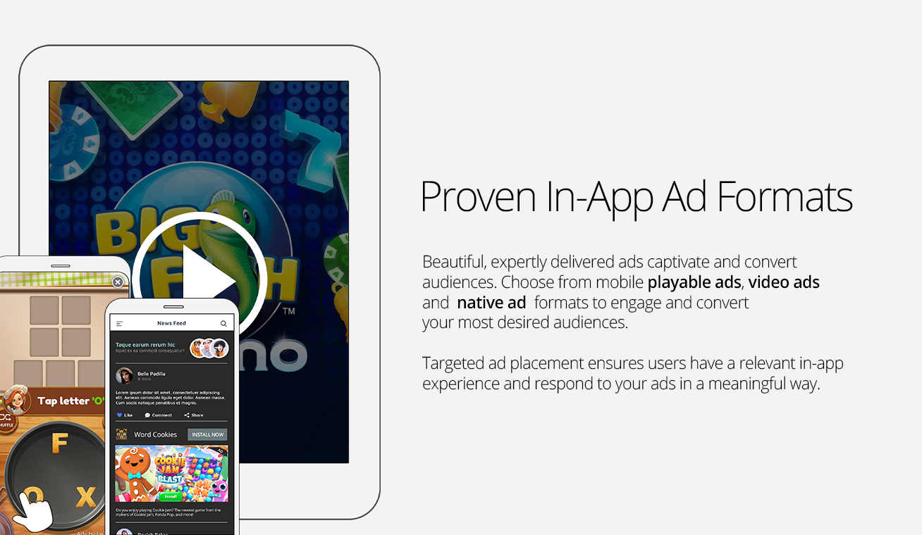 Leadbolt Demo - High-Performance Mobile Ad Formats - Playables, Video, and more