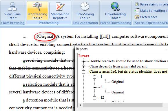 ClaimMaster Demo - Claim errors