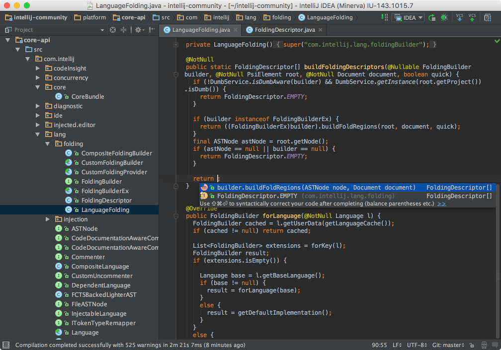 IntelliJ IDEA Demo - Deep intelligence