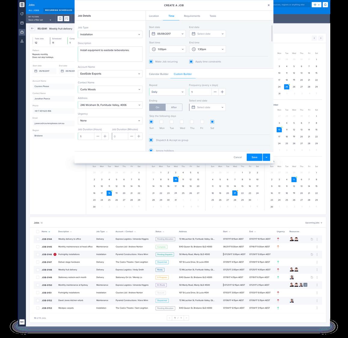 Skedulo Demo - Simplify Complex Scheduling with Clean Visuals