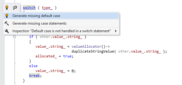 ReSharper C++ Demo -  Quick-fixes