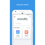 Attendify Mobile Apps Screenshot