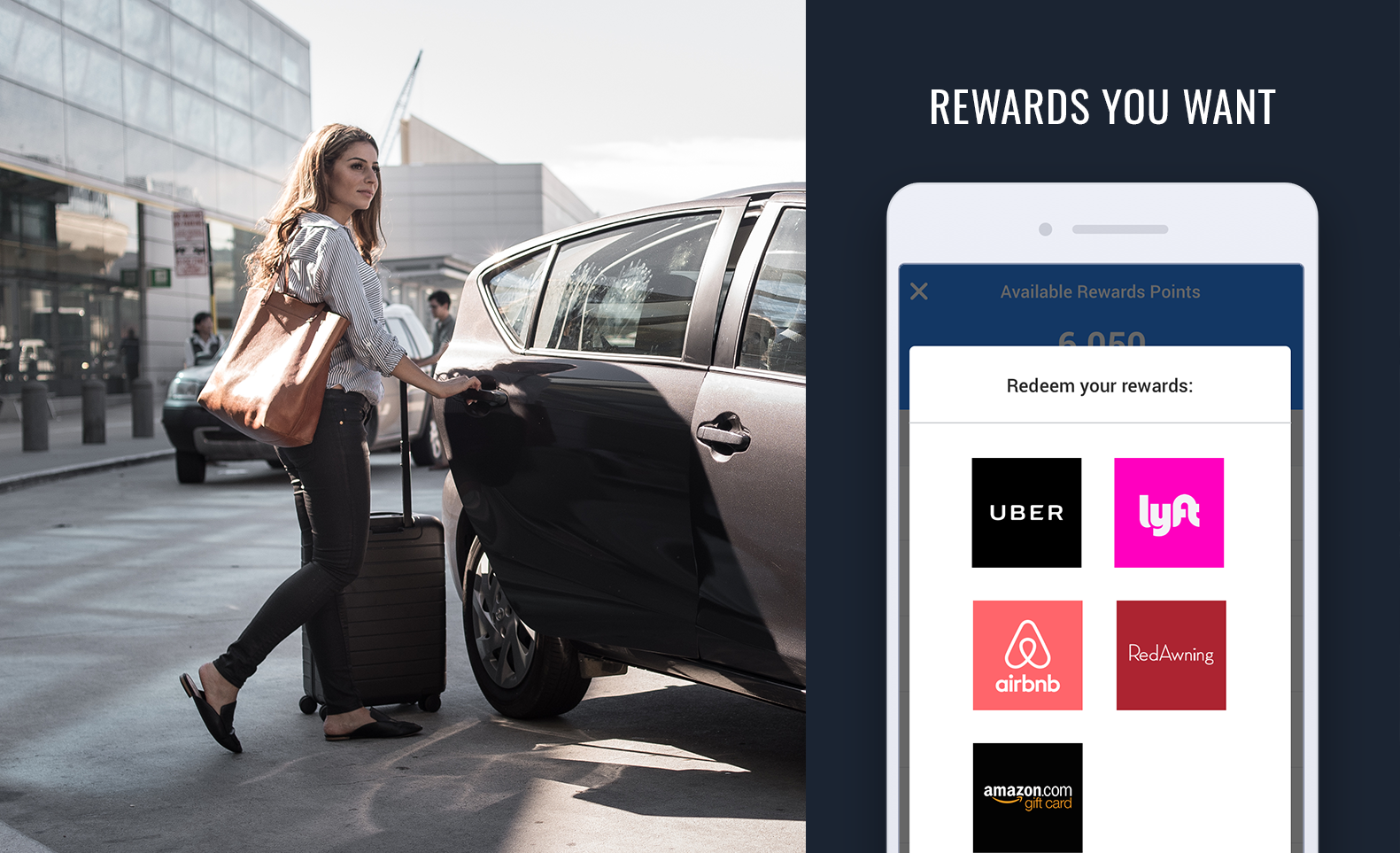 TravelBank Demo - Rewards you want