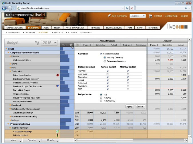 BrandMaker Demo - Spend Management