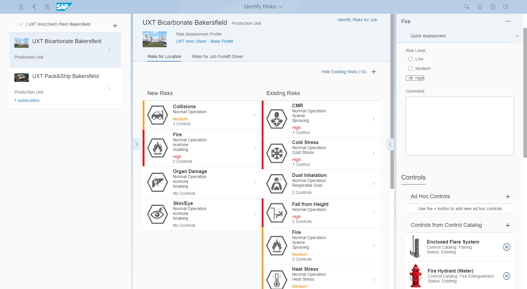 SAP S/4HANA Demo - Monitor Risks