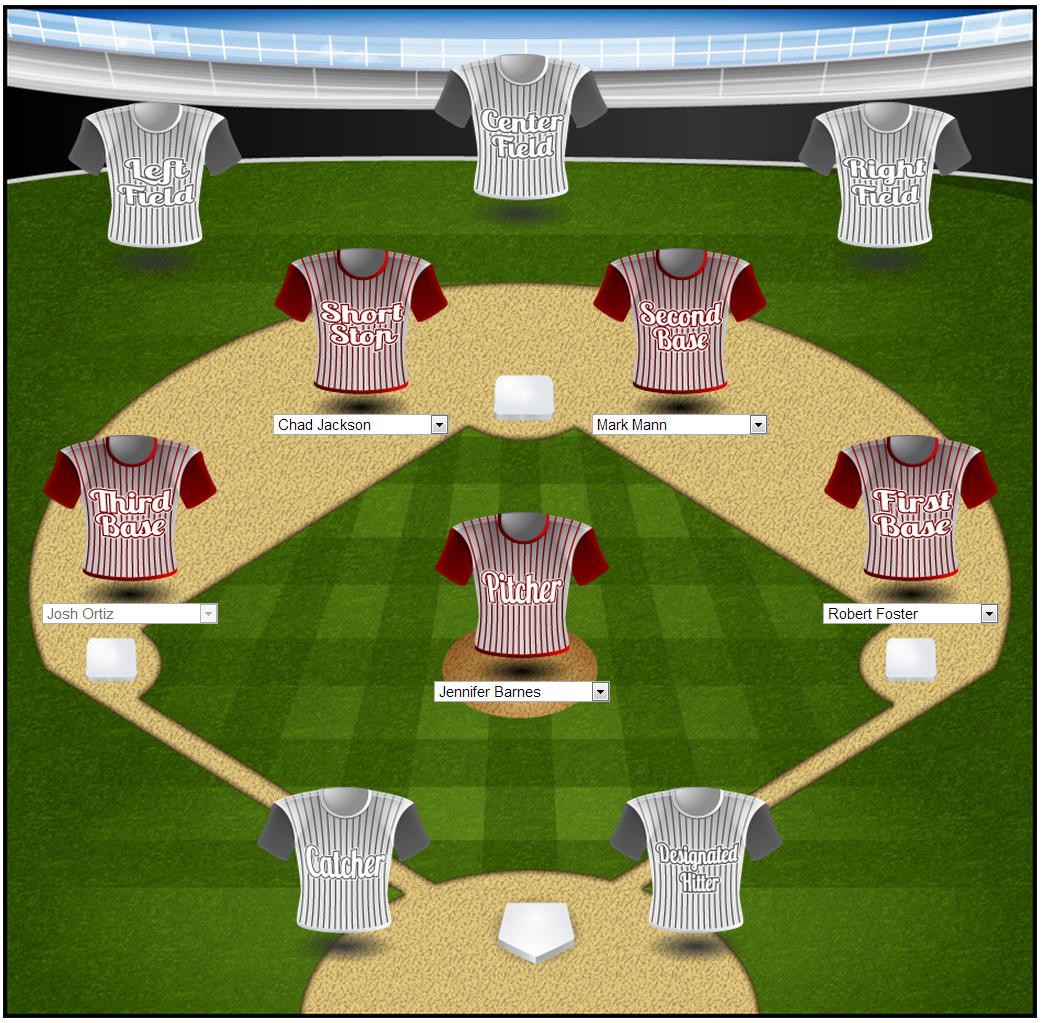 Microsoft Dynamics 365 - Gamification Demo - Baseball Template