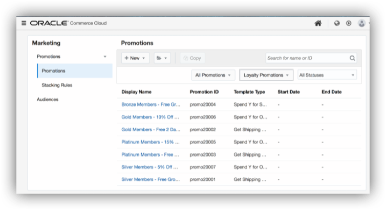 Oracle Commerce Cloud Demo - Promote and Convert