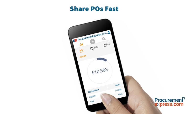ProcurementExpress.com Demo - Share PO's Fast