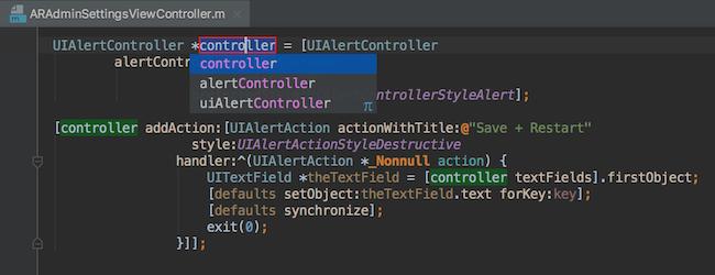 AppCode Demo -  Rename refactoring