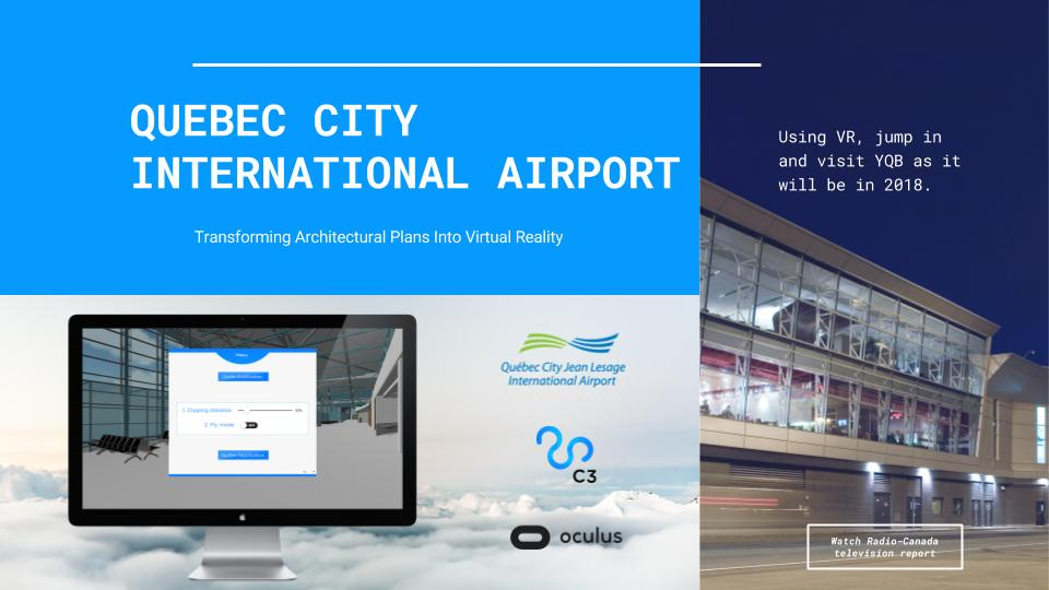 Cortex - App Development Company Demo - Québec City Airport Case Study