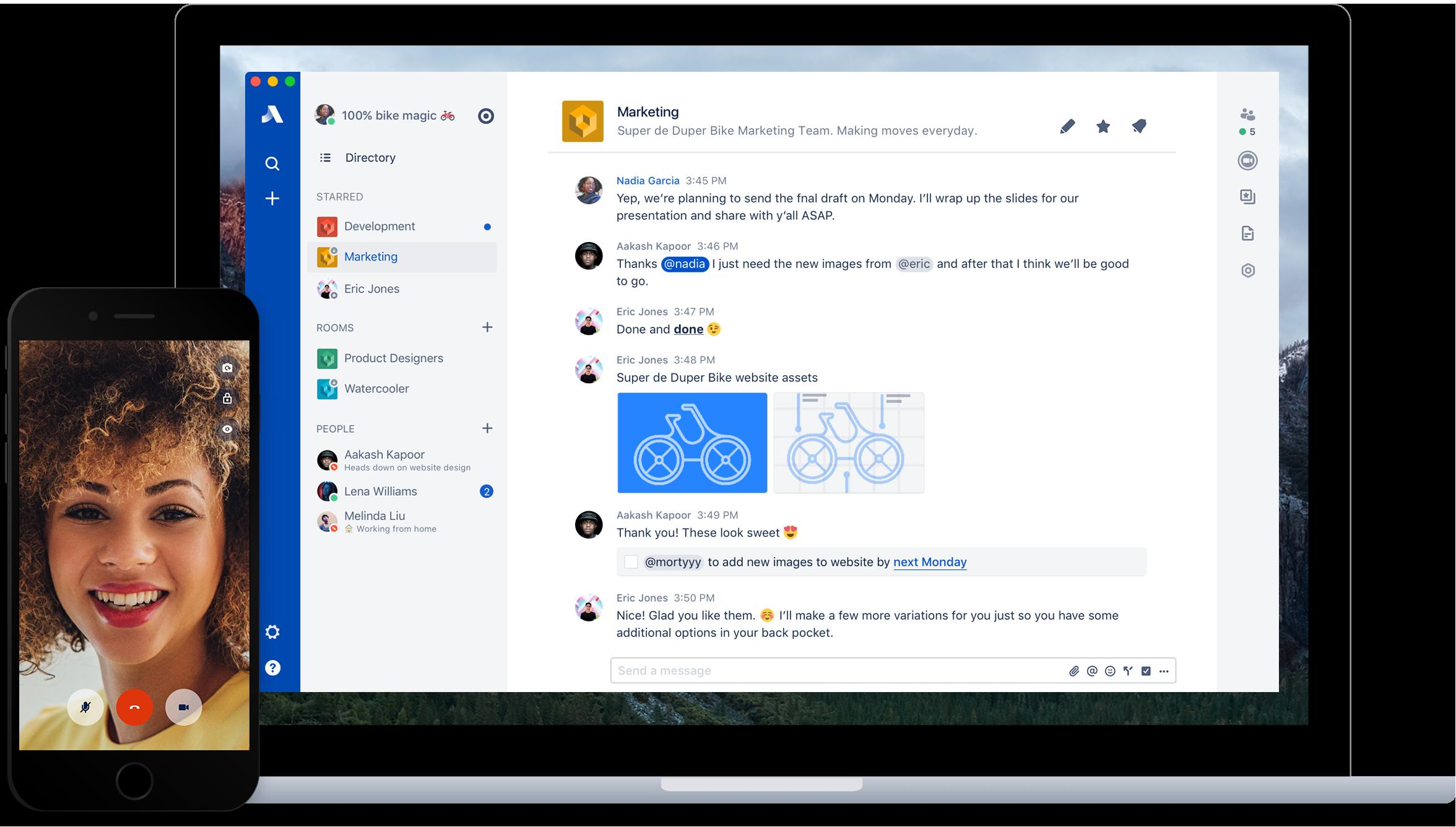 Stride Demo - Stride Across Desktop and Mobile