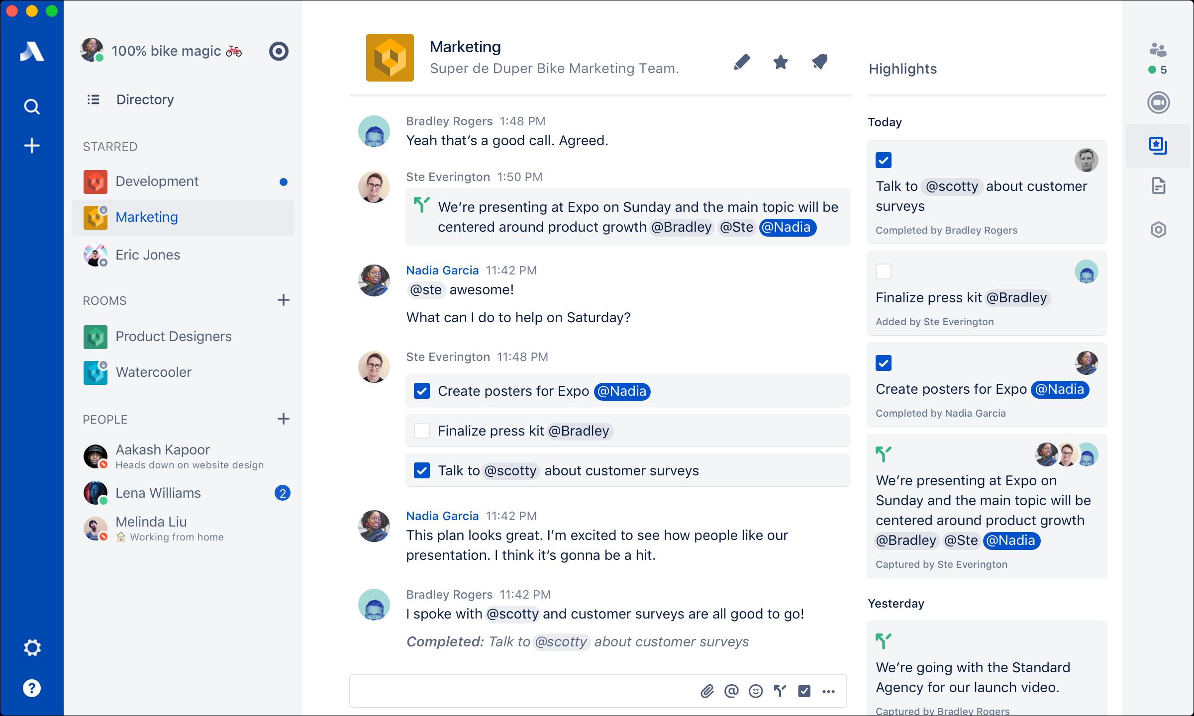 Stride Demo - Stride Collaboration Tools