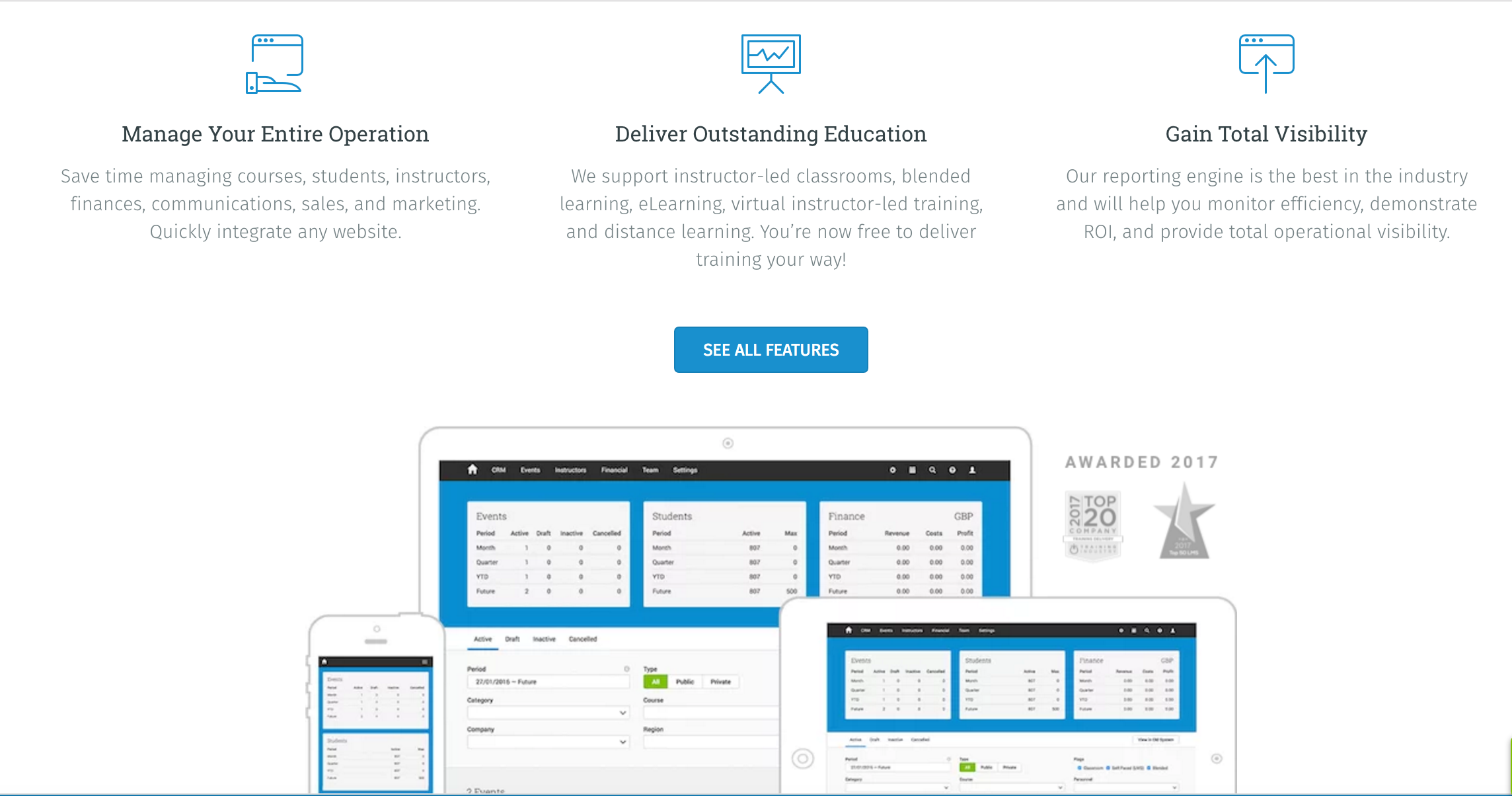 Administrate Demo - Training & Learning Management System