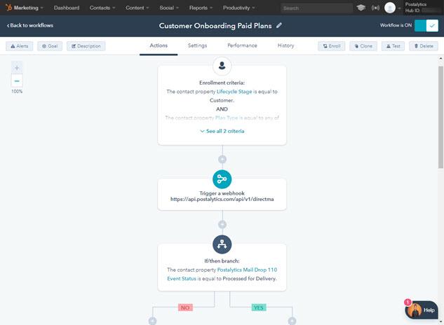 Postalytics Demo - HubSpot+Triggered+Workflow.jpg