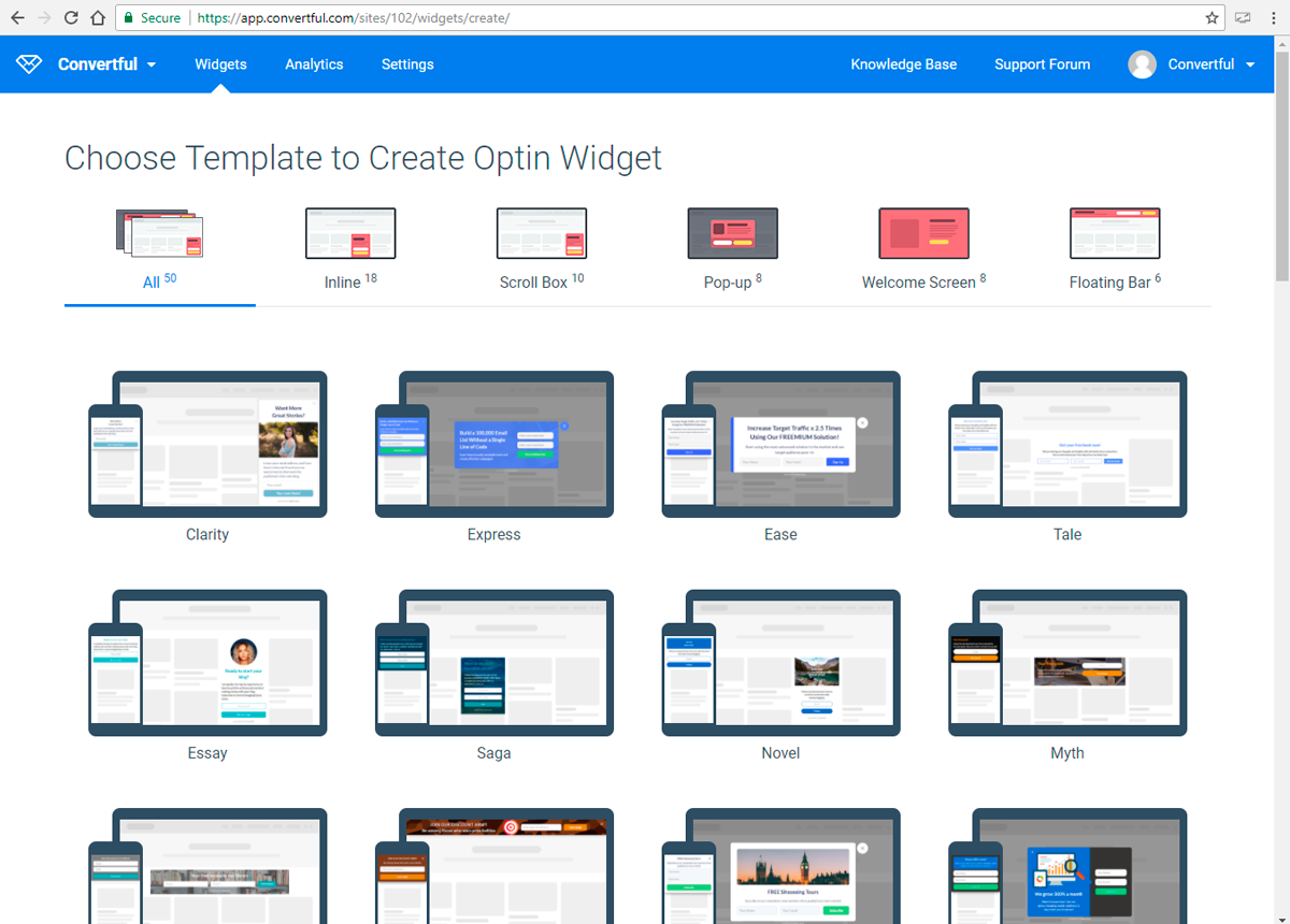 Convertful Demo - convertful-screenshot-templates.png