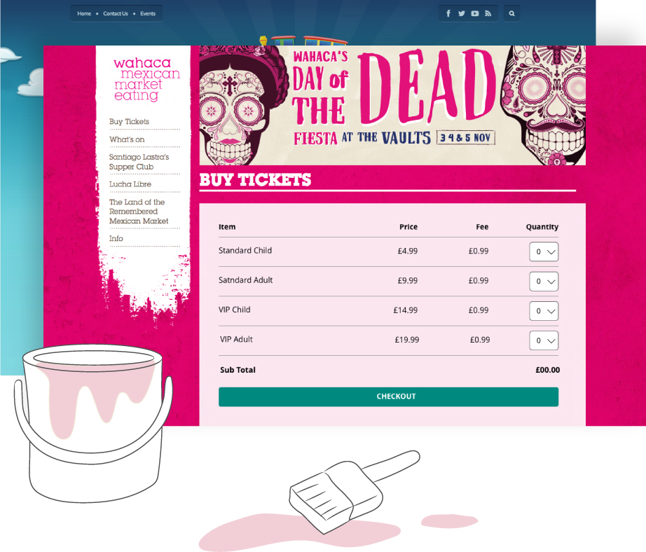 Ticket Tailor Demo - Customisable event pages