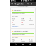 AppDynamics Mobile Apps Screenshot