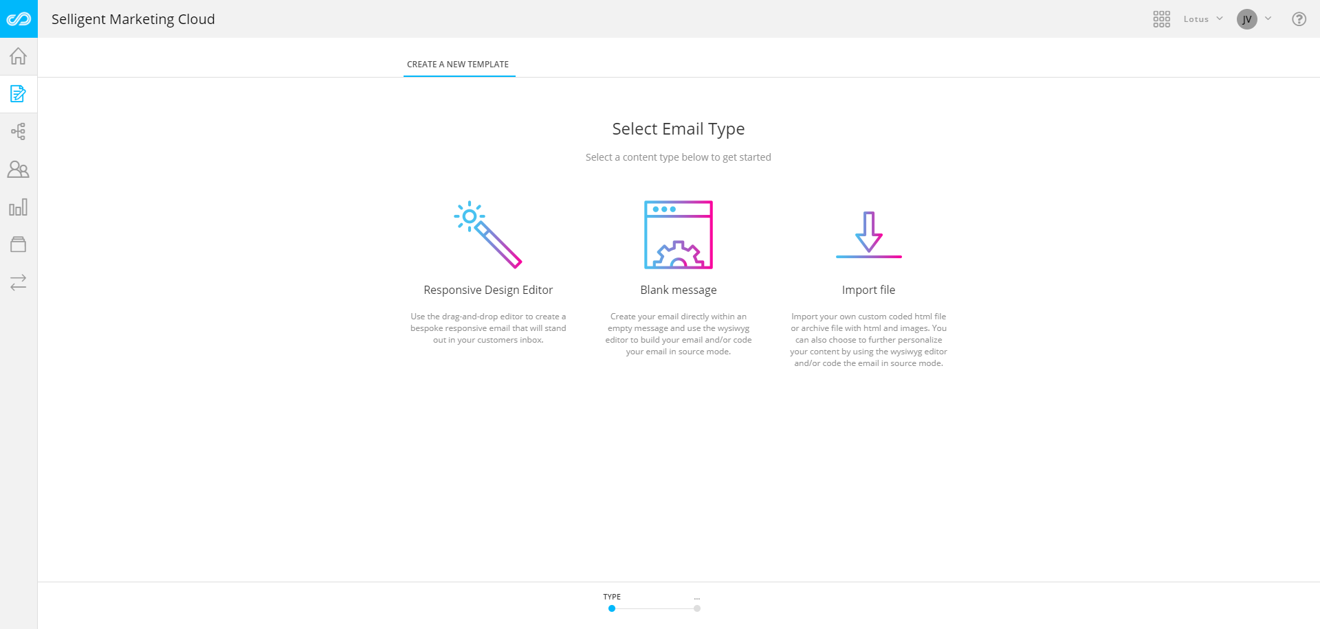 Selligent Marketing Cloud Demo - Email Template