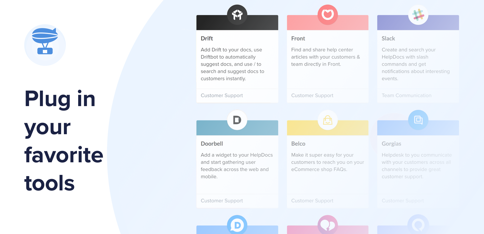 HelpDocs Demo - Plug in your favorite tools