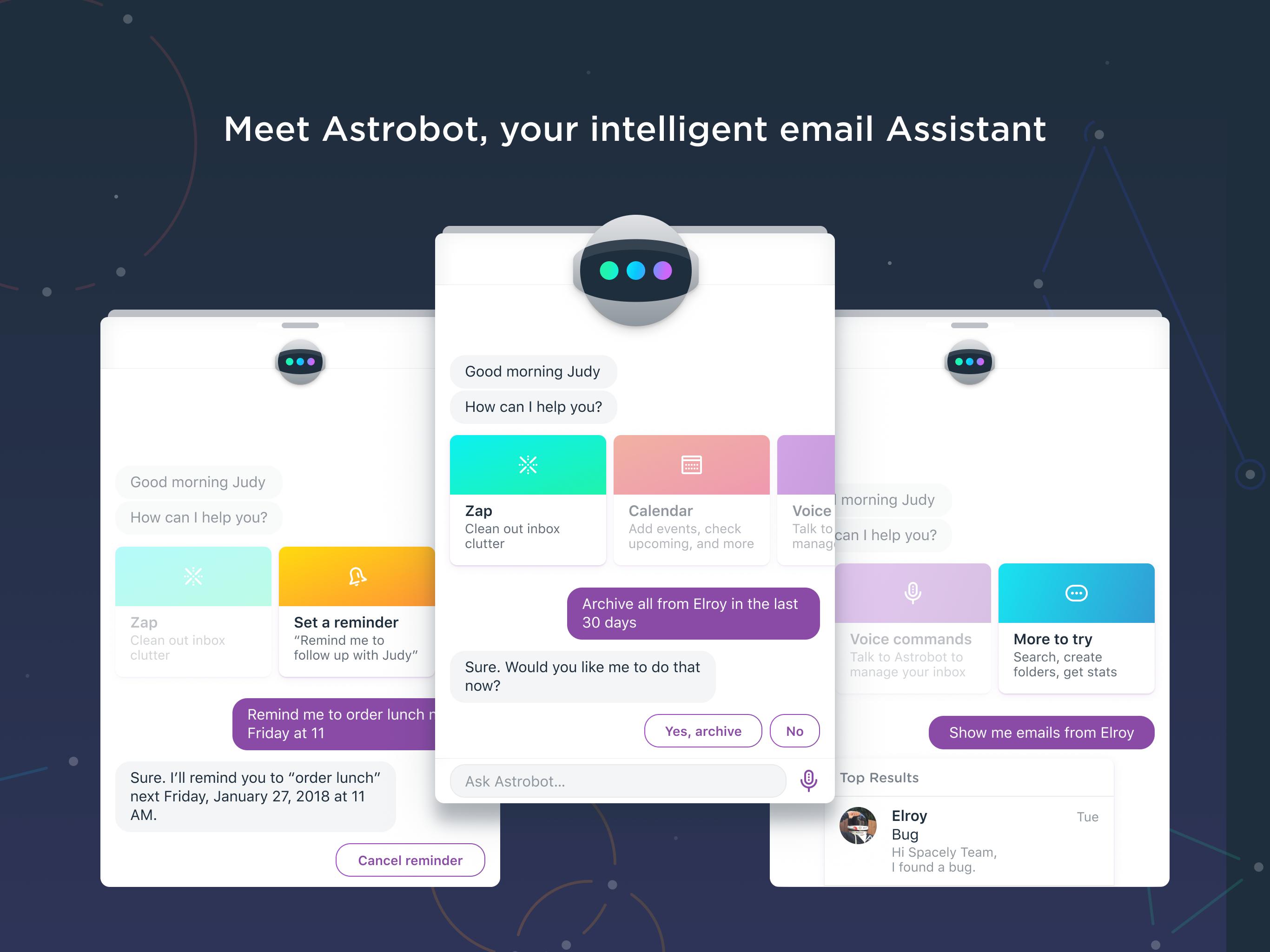 Astro Demo - Meet Astrobot