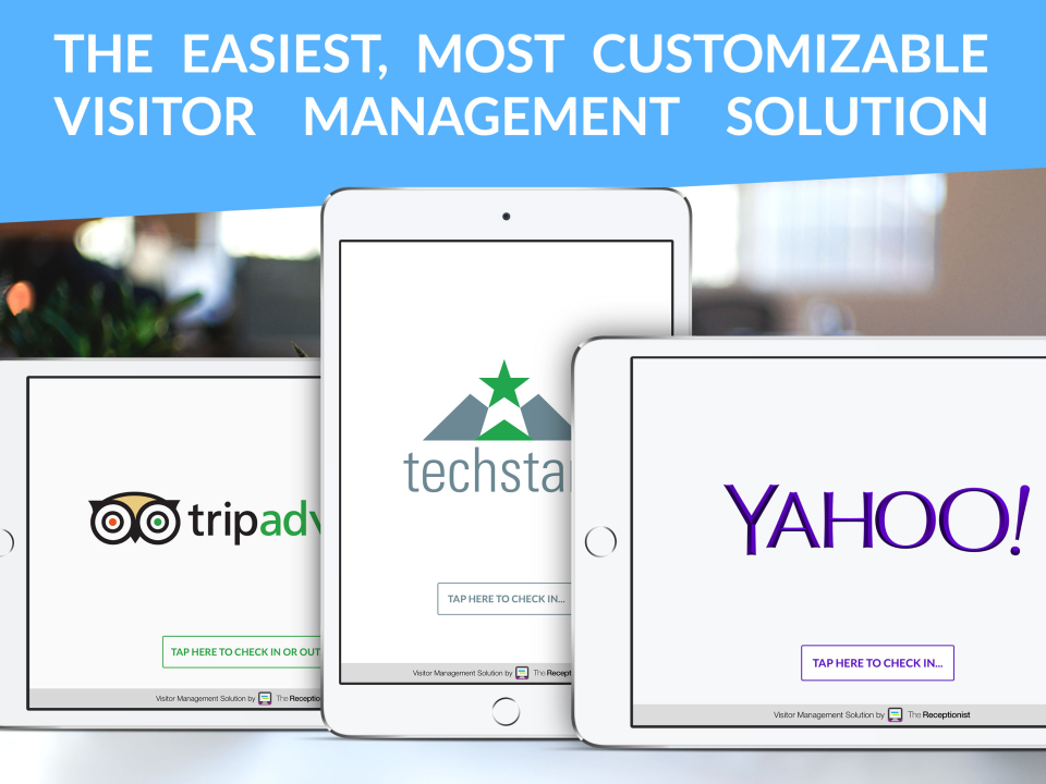 The Receptionist Demo - The easiest, most customizable visitor management solution