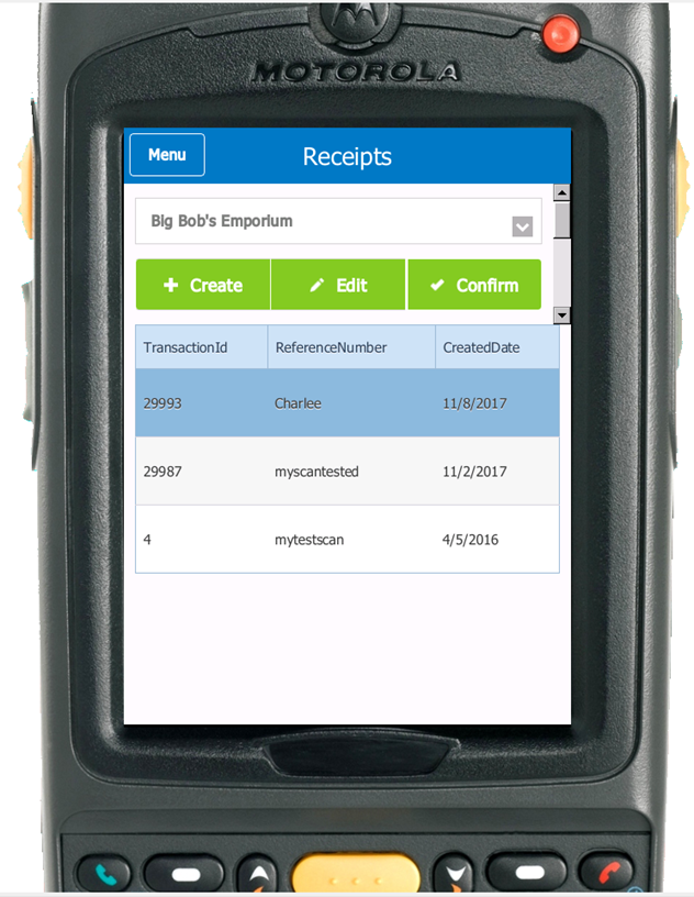 3PL Warehouse Manager Demo - Mobile Scanning