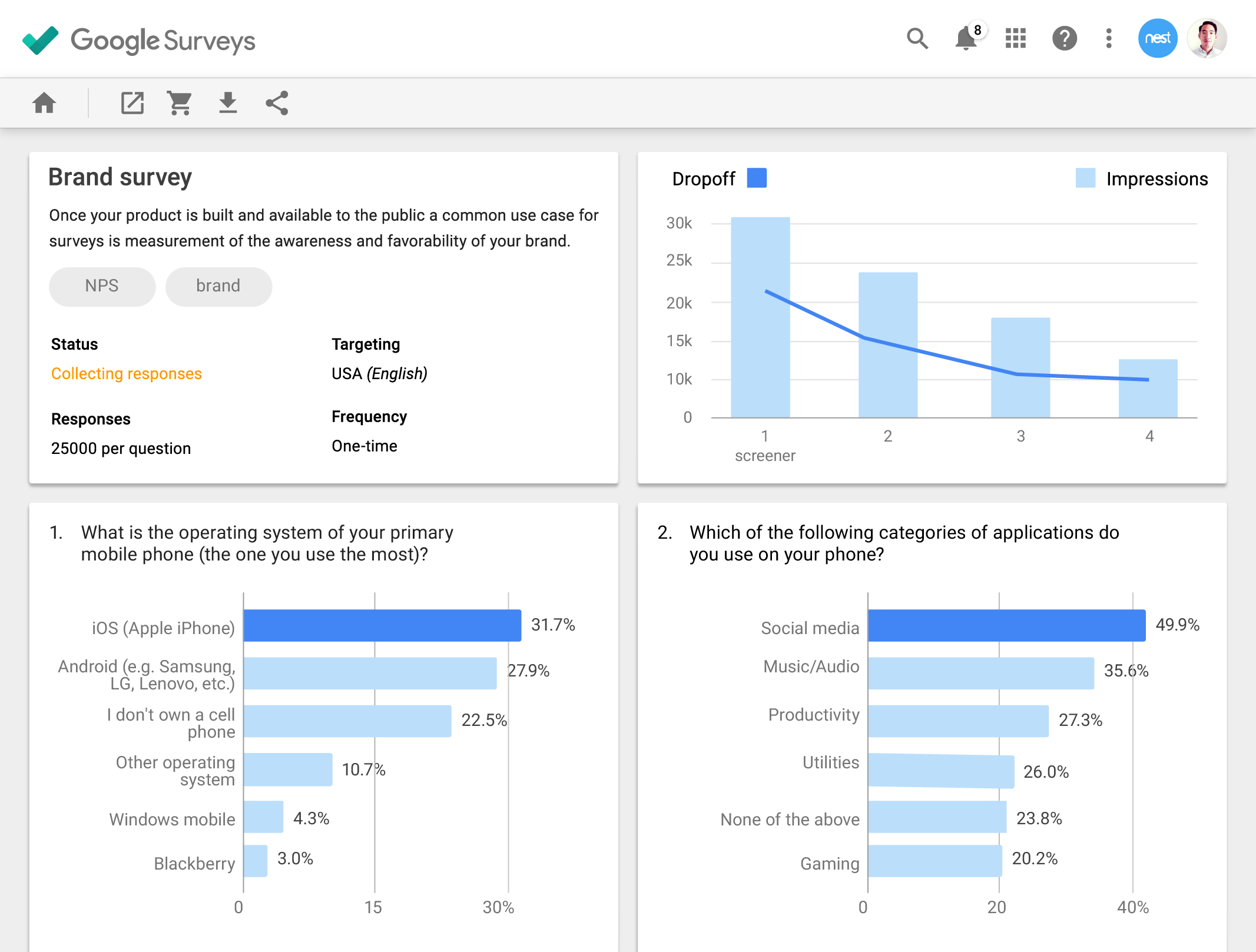 Google Surveys Reviews 2019: Details, Pricing, & Features | G2