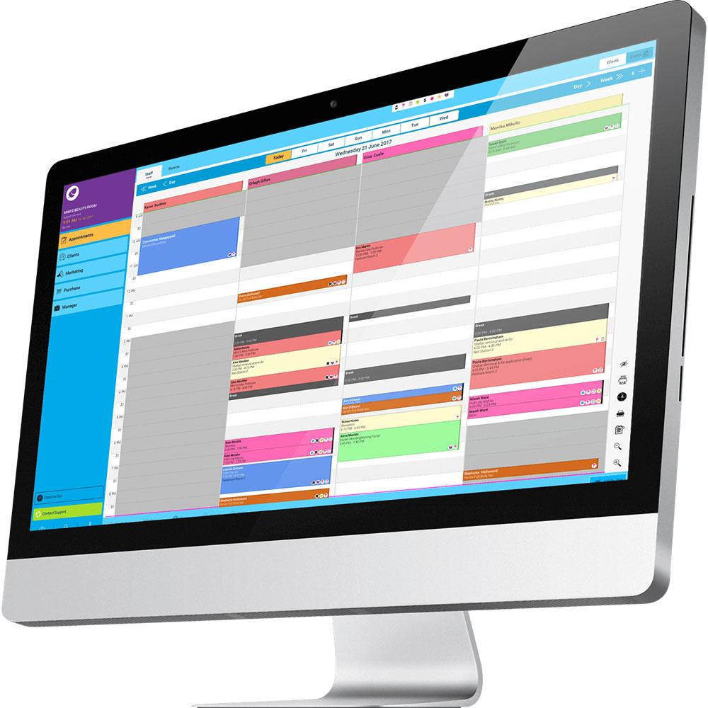 Phorest Salon Software Demo - Phorest Appointment Screen