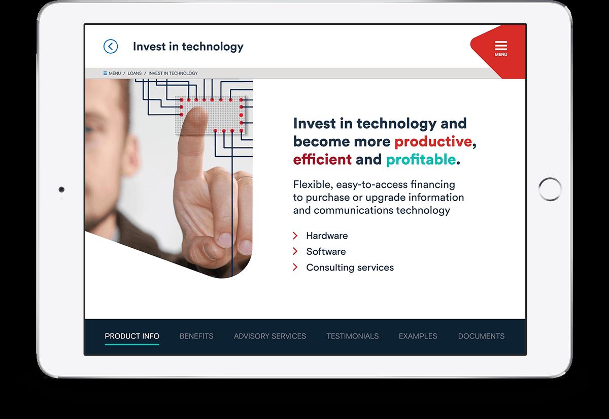 Beehivr Technology Demo - Custom mobile Sales app for BDC