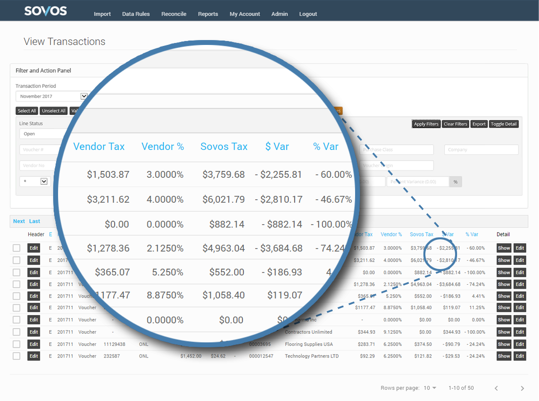 Sovos Intelligent Compliance Cloud Demo - Sovos Use Tax Manager