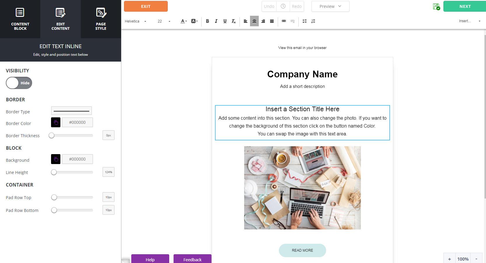 VerticalResponse Demo - Easy to use