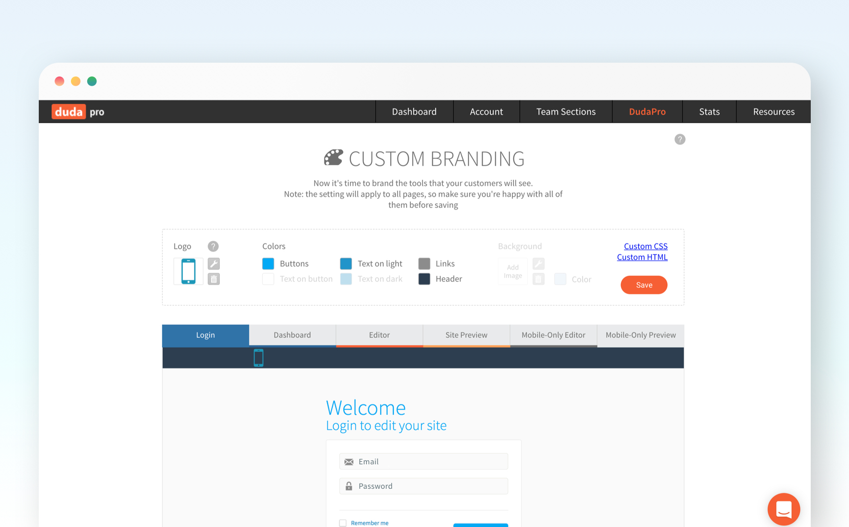 Duda Demo - Brand the Duda website builder as your own