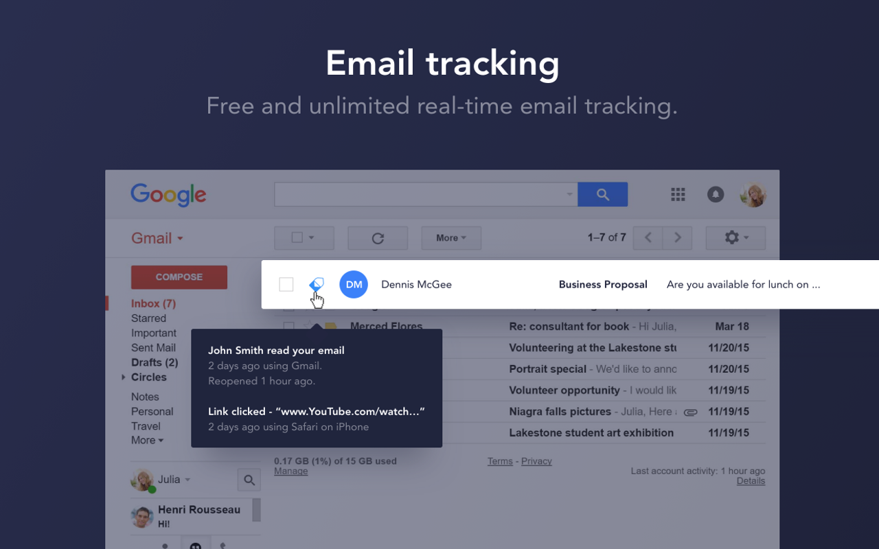 MailTag.io Demo - Track Unlimited Emails in Real-Time